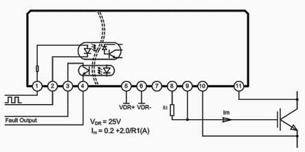 电路  适用600v-1200v,20a-400a的igbt驱动,驱动电流3a 资料下载(pdf
